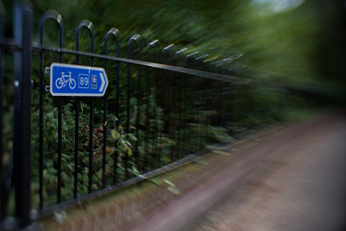 750/1000 - Cyclists this way by Mark Carline