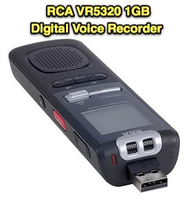 RCA VR5320 1GB Digital Voice Recorder