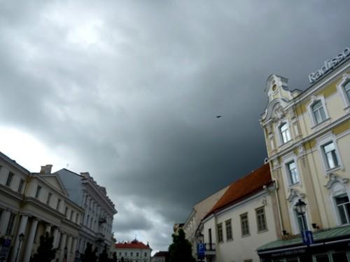 Vilnius skies