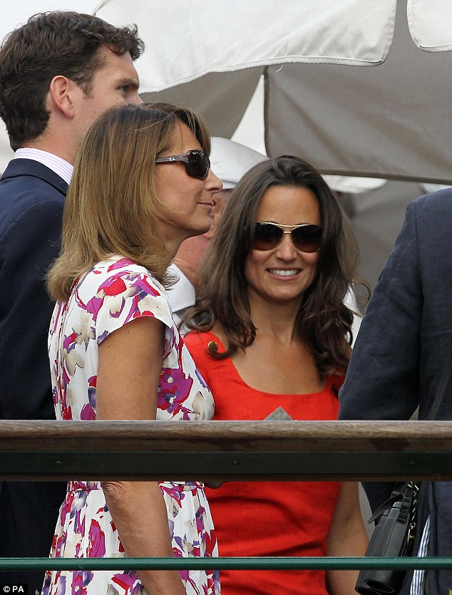 Pippa Middleton ends speculation of a break-up as she and boyfriend Alex Loudon arrive at Wimbledon  6