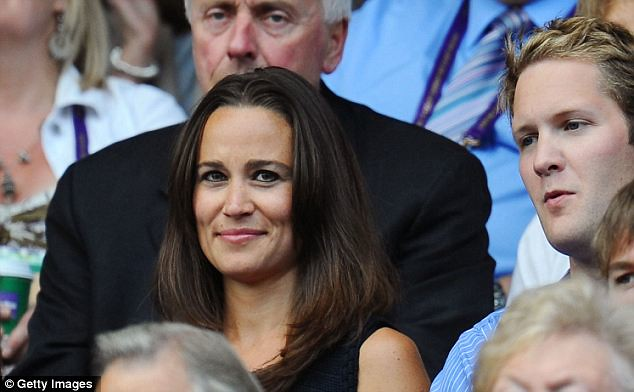 Pippa Middleton causes a stir on Wimbledon's Centre Court yet again   2