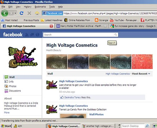 revised last high voltage screen shot