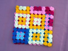 Manta de crculos (Arrorr en colores) Tags: baby crochet afghan yoyo multicolor grannysquare circulos fullcolor ganchillo