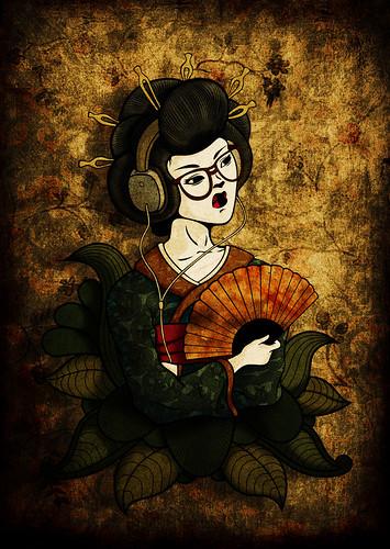 Geisha Hipster