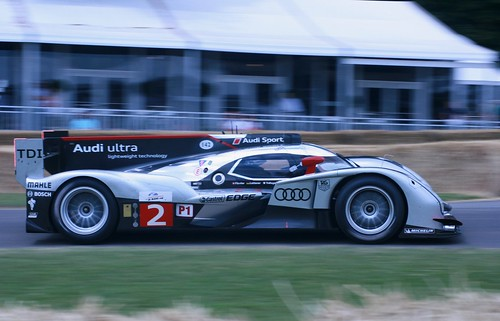 Audi R18 at Goodwood 2011
