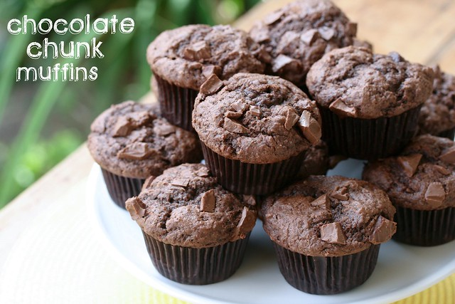 Chocolate Chunk Muffins - Tuesdays with Dorie