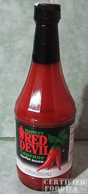 Trappey's Red Devil Cayenne Pepper Sauce - CertifiedFoodies.com