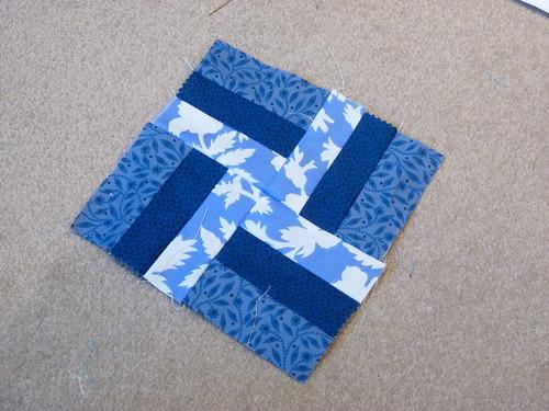 Block #4 Basket Weave