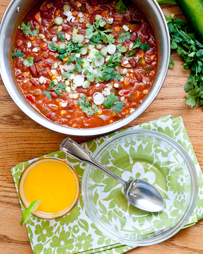 Garden Vegetable Chili | Make and Takes
