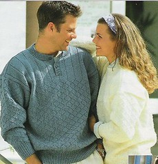 Together in wool sweater (Mytwist) Tags: woman wool sweater married together gift knitted essantial