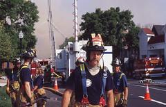 181_365 (beinshitty) Tags: film wisconsin canon fire iso100 kodak ae1 smoke slide slidefilm madison ektachrome firefighters year3 capitolsquare filmgrain expiredfilm june30 project365 madison365 181365 ektachromee100sw project36612011