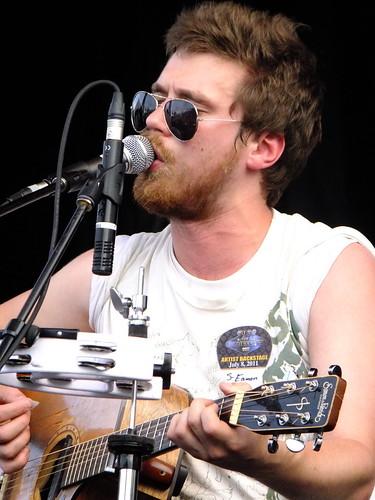 Eamon McGrath at Ottawa Bluesfest 2011