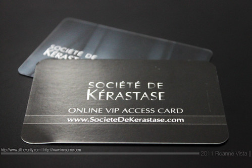 Card - Societe de Kerastase Philippines