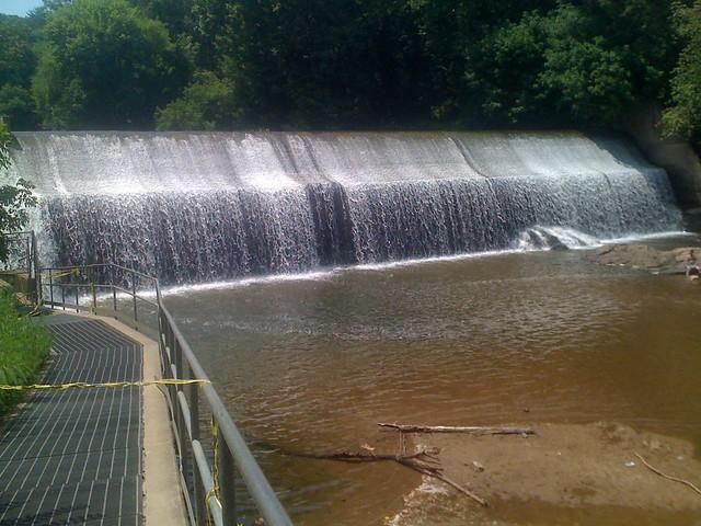Tubing start point: Bloede's Damn, Patapsco River