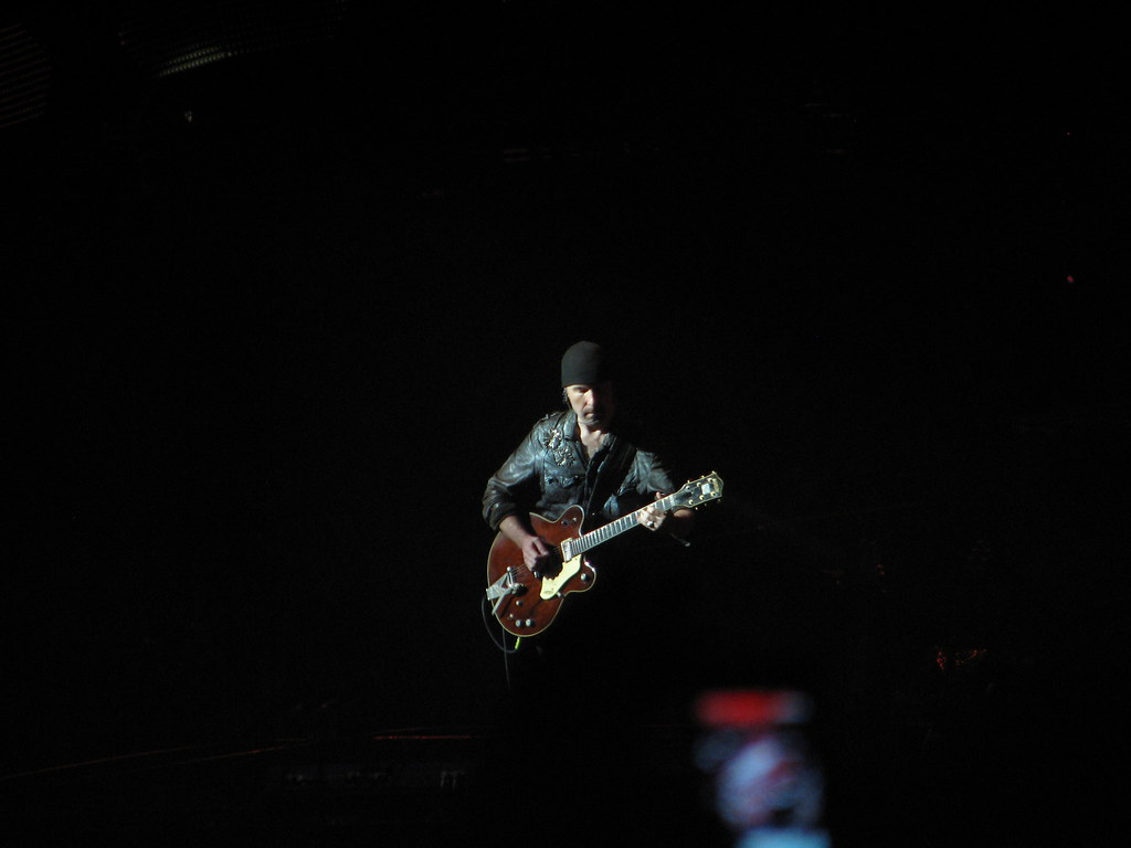The Edge - U2 - 360° Tour - Montréal 2011