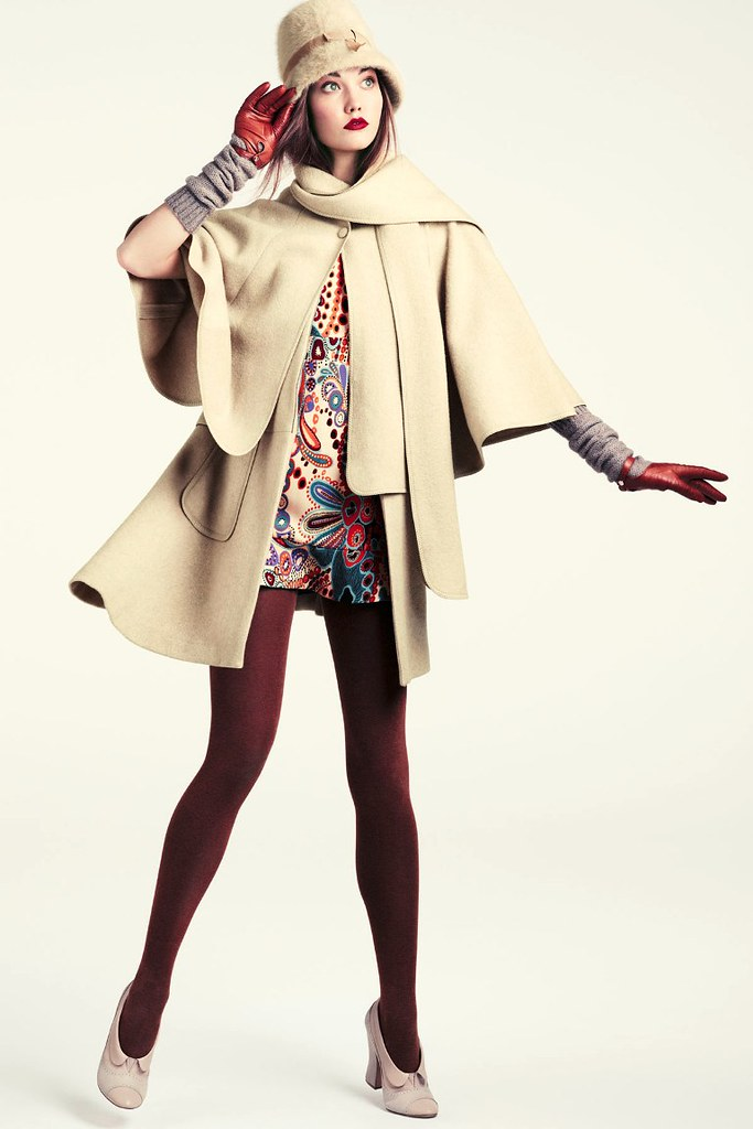 Karlie+Kloss+HM+Fall+2011+Lookbook+7