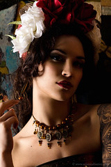 (Arianna Biasini) Tags: persian necklace model jewelry mitra headpiece temnafialka