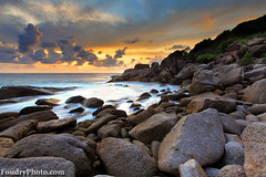 Similan Island Sunset-3  - thailand (A.alFoudry) Tags: trip light cloud sun color beach rock clouds canon thailand island eos rocks colorful ray mark tide wave full shore frame april l 5d kuwait fullframe phuket heavy kuwaiti q8 abdullah newer عبدالله mark2 2011 || kuw q80 q8city xnuzha alfoudry الفودري canonef1635mmf28l abdullahalfoudry foudryphotocom setorange ef1635mmf28 seasimilan mark|| 5d|| canoneos5d|| mk||