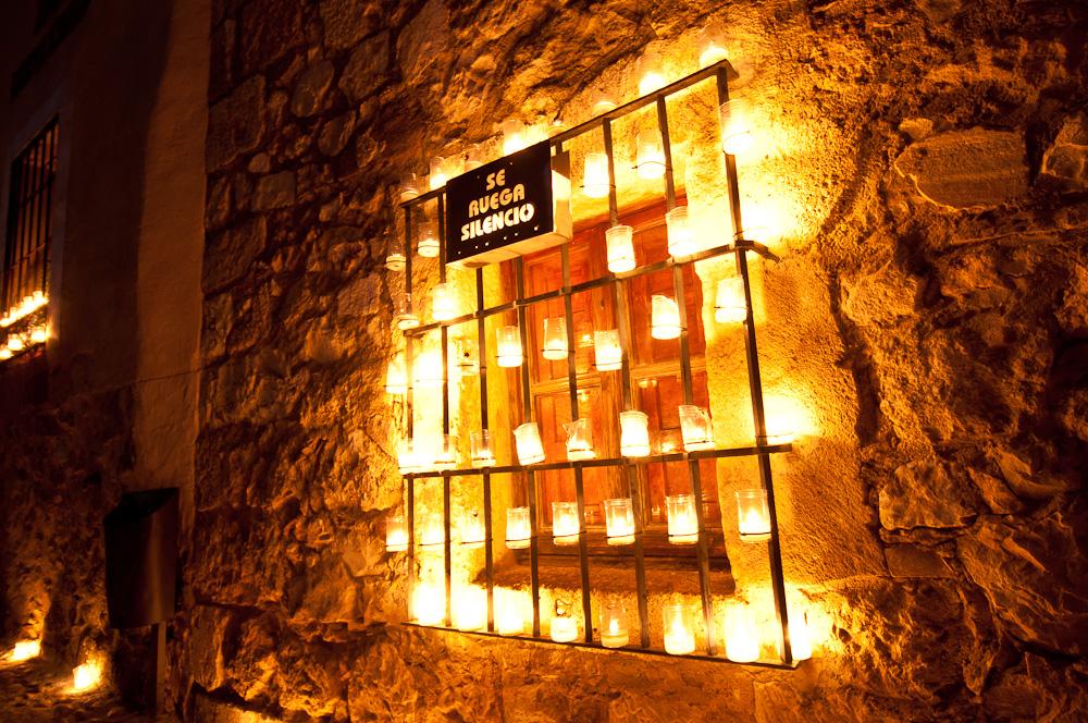 La noche de las velas en pedraza - El jardin de pedraza ...