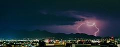 Arizona Monsoon, McDowell Mountains (NicLeister) Tags: arizona storm film phoenix pentax k1000 thunderstorm scottsdale lightning kodakektar100 arizonathunderstorms yahoo:yourpictures=elements yahoo:yourpictures=landscape