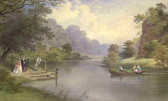 River Derwent near Matlock (Enlightenment!) Tags: painting derwent matlock matlockbath eighteenthcentury
