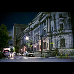 Bank of Japan (Guwashi999) Tags: building japan night tokyo sigma  nihonbashi    foveon bankofjapan dp2 nichigin   nihonginko sigmadp2