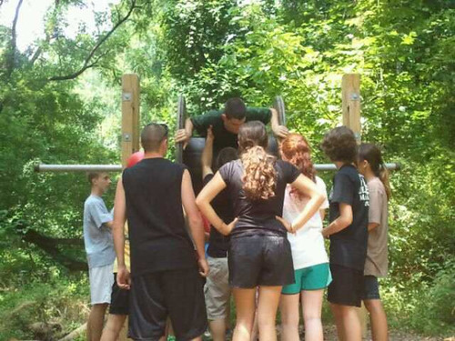 NSEC at the Ropes Course
