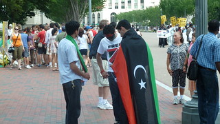 Lybians In Support Of The UN's Actions in Libya