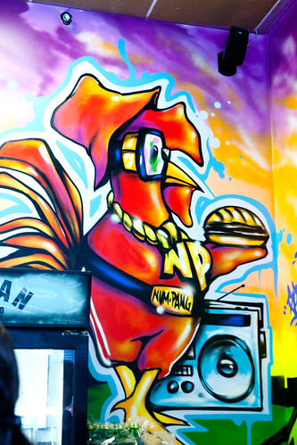 I adore the hip-hop chicken