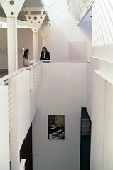 View of Stairwell From Gallery