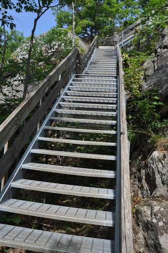Stairway to Cliff Top Trail