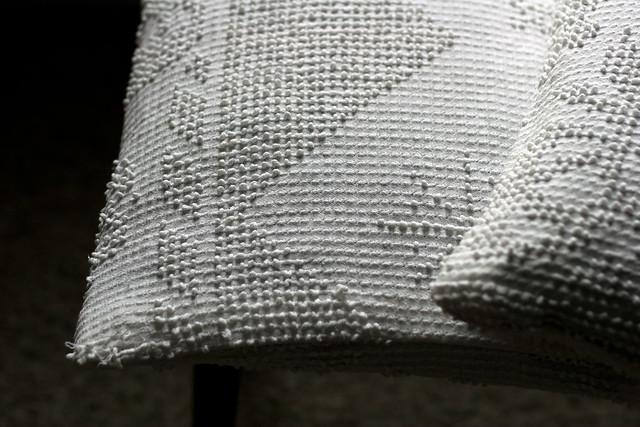 old bedspread cushions