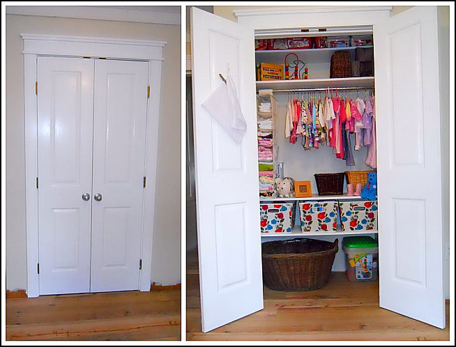 Small Nursery Closet Organization Ideas Part - 24: Andrea Dekker
