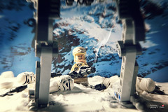 Are you ready? (storm TK431) Tags: snow rebel starwars lego minigun hoth atst brickarms