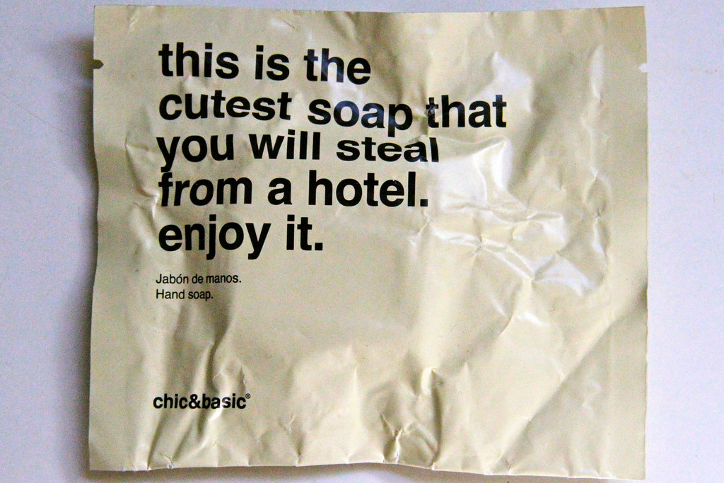hotel soap 7358