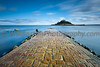 St Michael's Mount, Marazion - Cornwall (willbartonphotography) Tags: longexposure england cornwall bluesky blurred lee causeway stmichaelsmount marazion gbr fluffyclouds neutraldensity 10stop 10stopnd bigstopper lee10stopnd