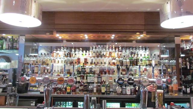 260 whiskeys at caledonian bar edinburgh
