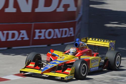 Sebastian Saavedra, IZOD IndyCar Series, Toronto 2011