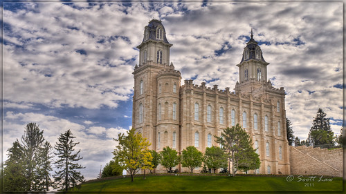 Manti LDS Temple by Just Used Pixels