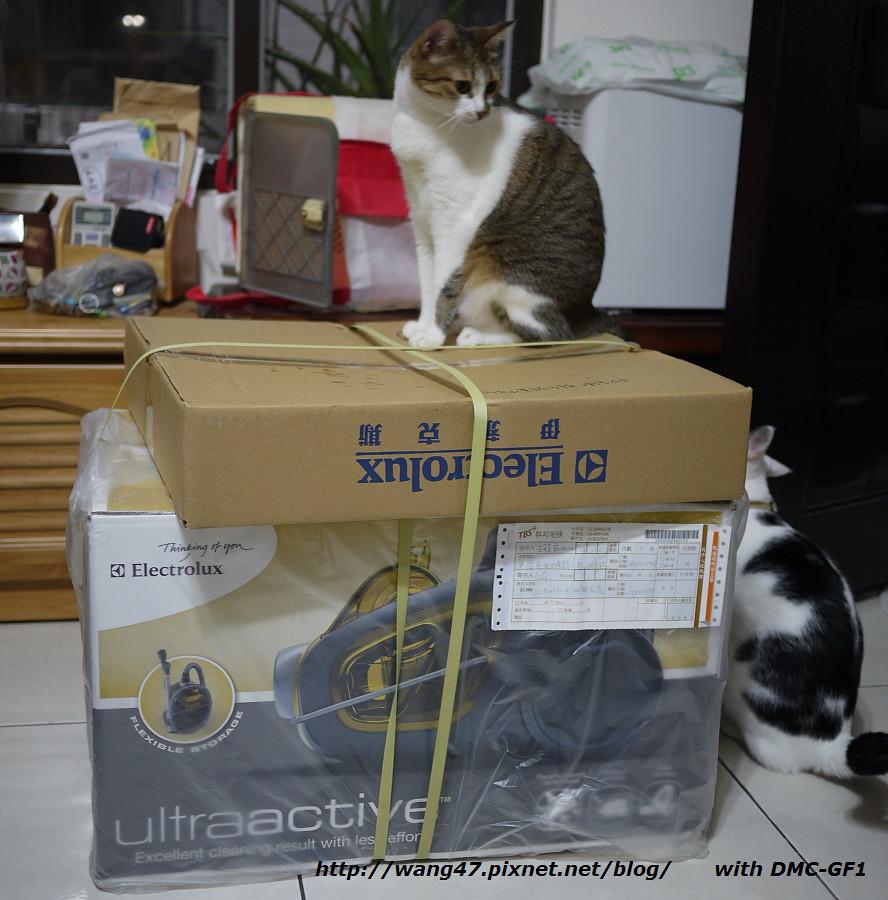 20110715-01伊萊克斯ZUA3860開箱