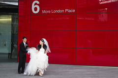 Just (kitch) Tags: red vacation london canon groom bride europe tuxedo justmarried six tux s90 canons90 europe2011