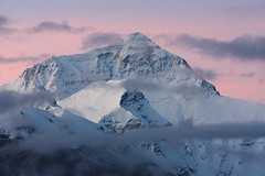8 minutes before sunrise (arjayempee) Tags: china tibet everest peregrine rongphumonastery img6086 chomolongma everestnorthface changtse everestwestridge tibetanexplorer rongphumonasteryguesthouse everestnorthridge thegreatcouloir thehornbeincouloir everestquotes