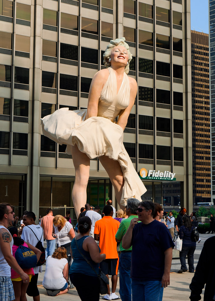 Forever Marilyn Monroe Sculpture