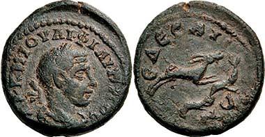 Edessa Gordian III Bronze obverse