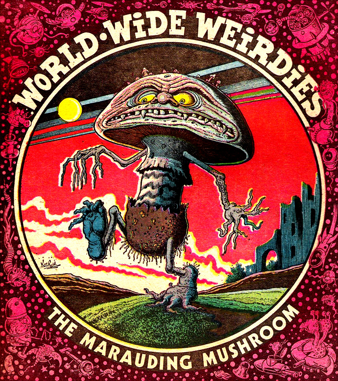 Ken Reid - World Wide Weirdies 31