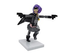 Hit Girl (Ochre Jelly) Tags: comics movie lego superhero planb kickass nicolascage chlo moretz hitgirl