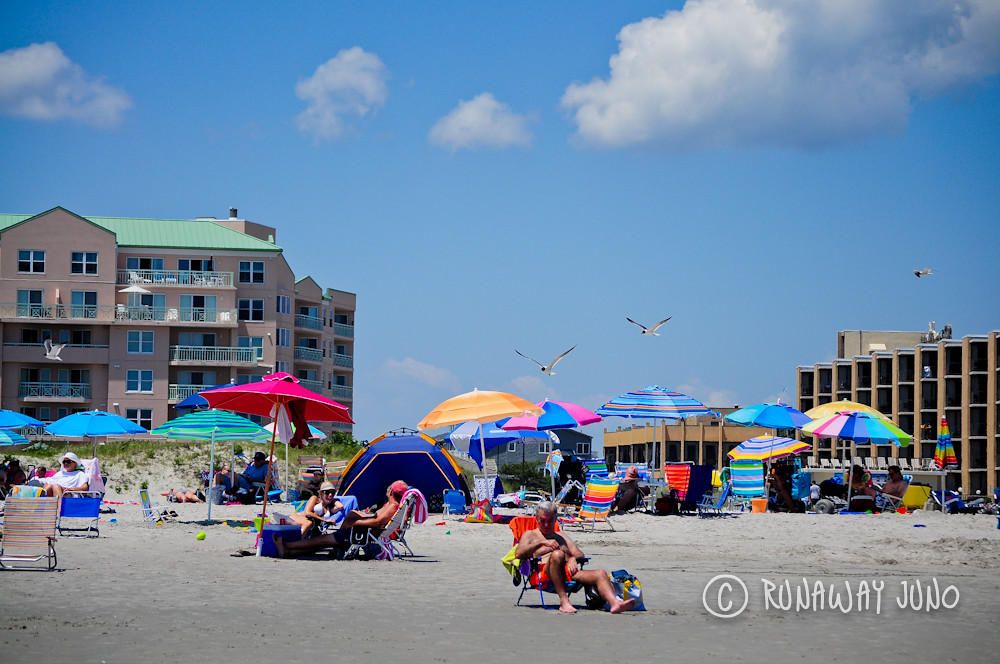 Enjoying Wildwood Crest, New Jersey