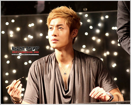 Kim Hyun Joong Fan Signing Event at iPark in Seoul  10