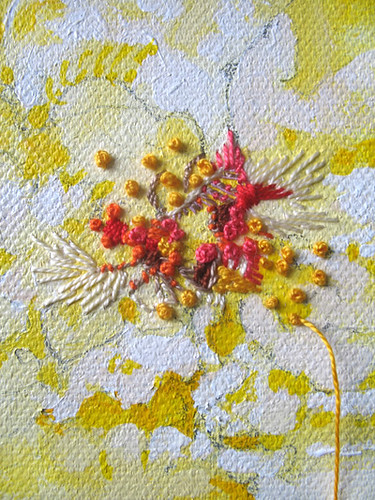 Embroidered Painting_detail