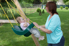 Swing (Craig Dyni) Tags: grandma baby girl grandmother granddaughter madelyn alannah dyni